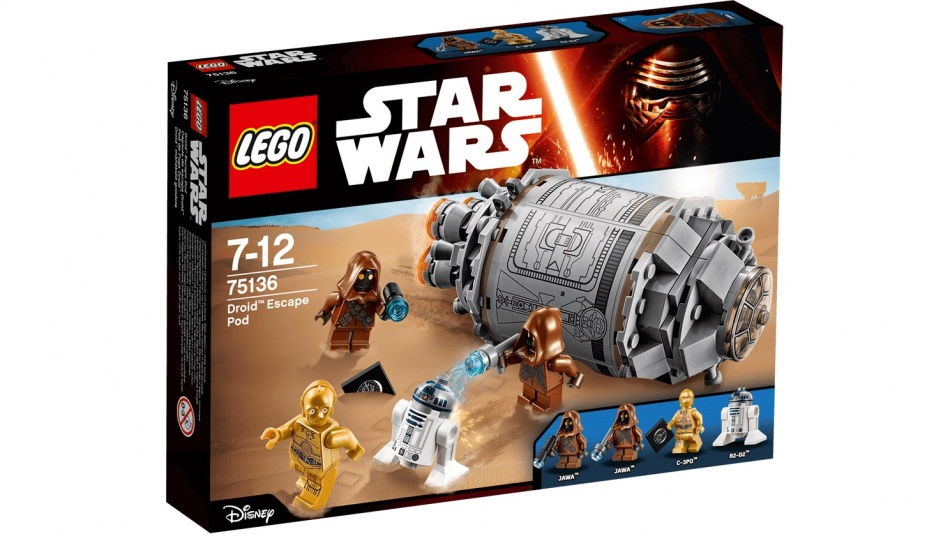 LEGO Star Wars: Droid Escape Pod (75136)