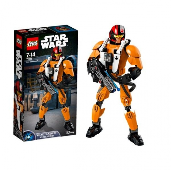 LEGO Star Wars Figures: Poe Dameron (75115)