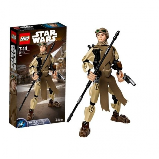 LEGO Star Wars Figures: Rey (75113)