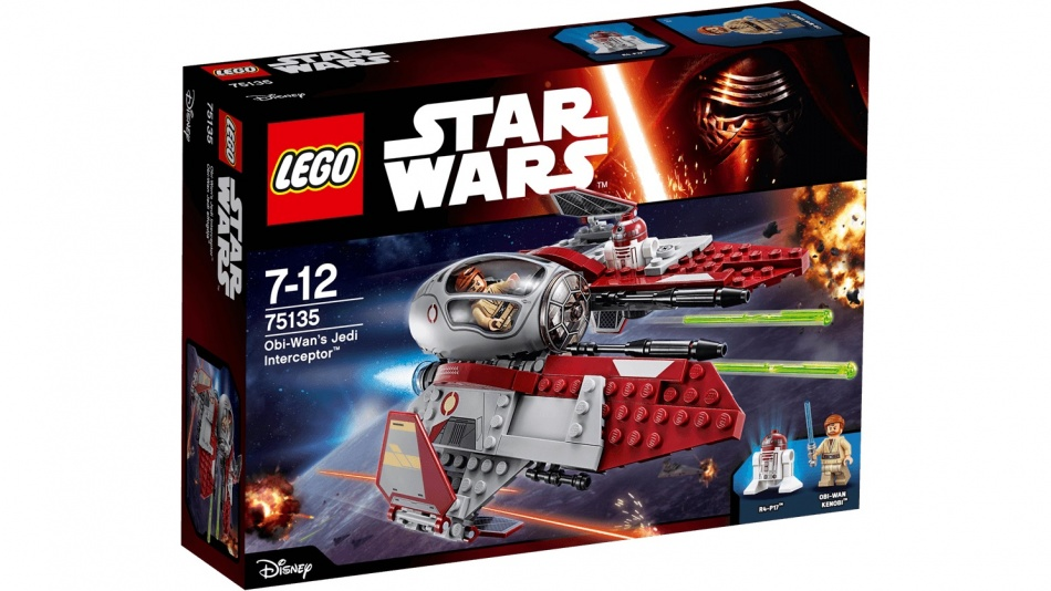 LEGO Star Wars: Obi Wan's Jedi Interceptor (75135)