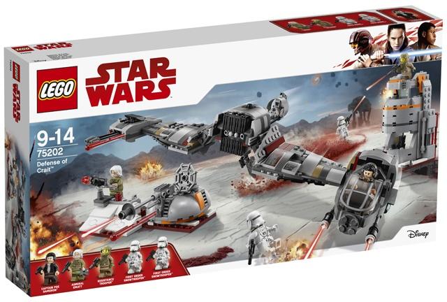 LEGO Star Wars: Verdediging Crait (75202)
