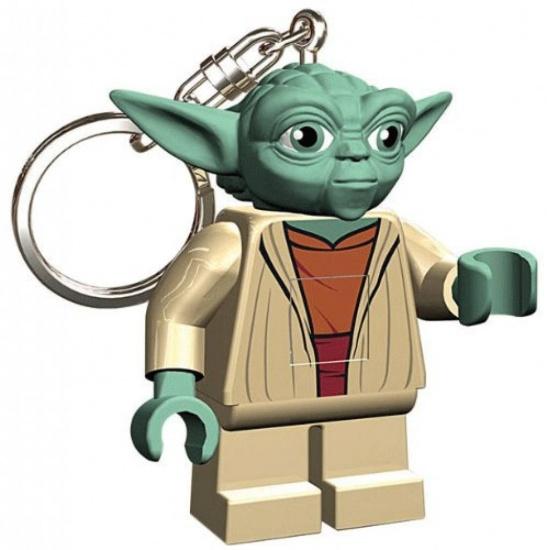 LEGO Star Wars: Yoda sleutelhanger 7 cm
