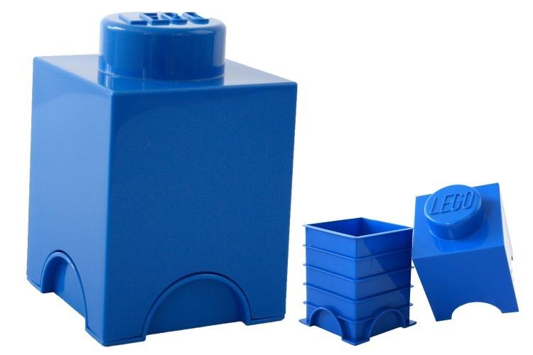 LEGO Storage Brick 1 (1,2L) Blauw