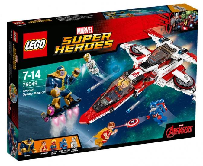 LEGO Super Heroes: Avenjet ruimtemissie (76049)
