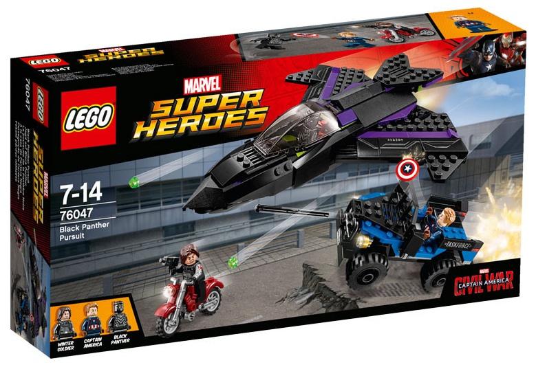 LEGO Super Heroes: Black Panther achtervolging (76047)