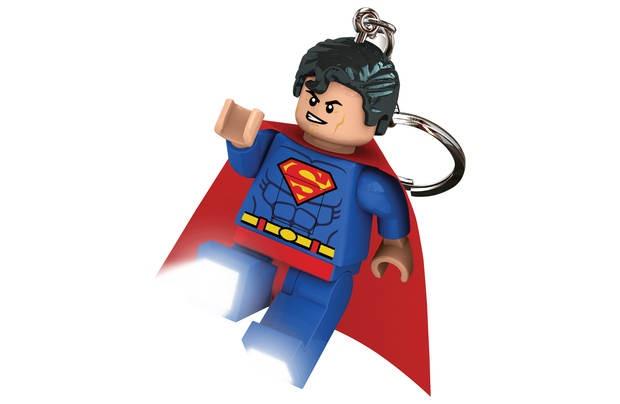 LEGO Super Heroes: Superman sleutelhanger 7 cm