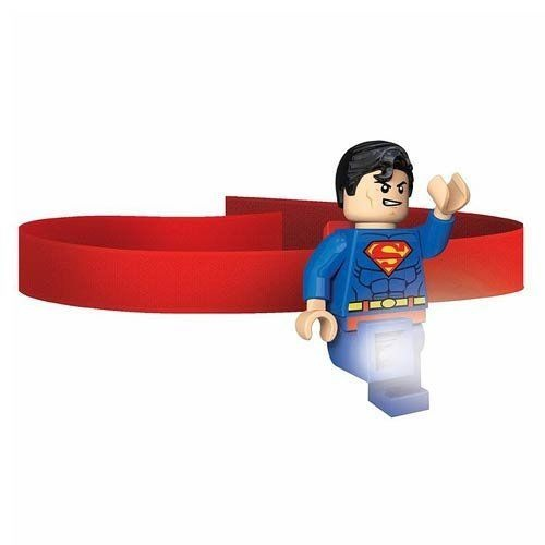 LEGO Super Heroes: Superman hoofdlamp 7 cm