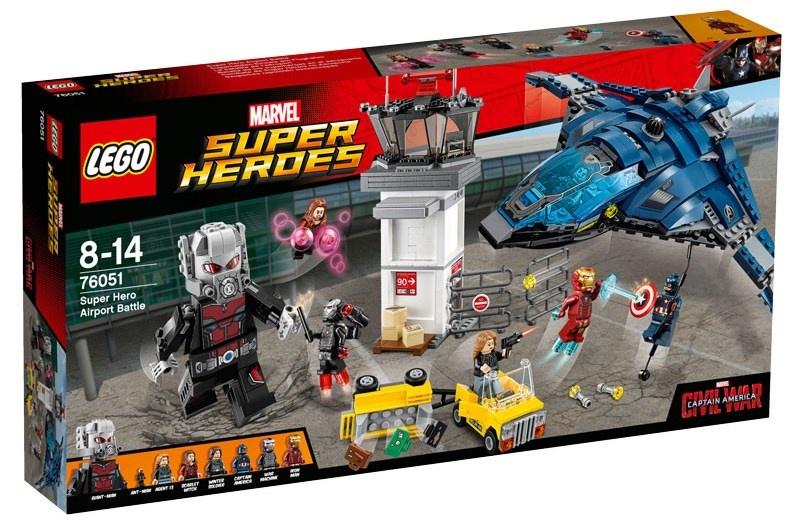 LEGO Super Heroes: vliegveld duel (76051)
