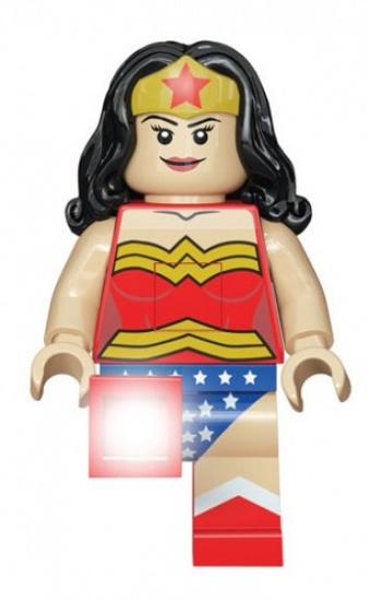 LEGO Super Heroes: Wonder Woman LED zaklamp 20 cm