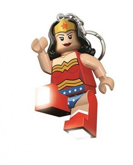LEGO Super Heroes: Wonder Woman sleutelhanger 7 cm