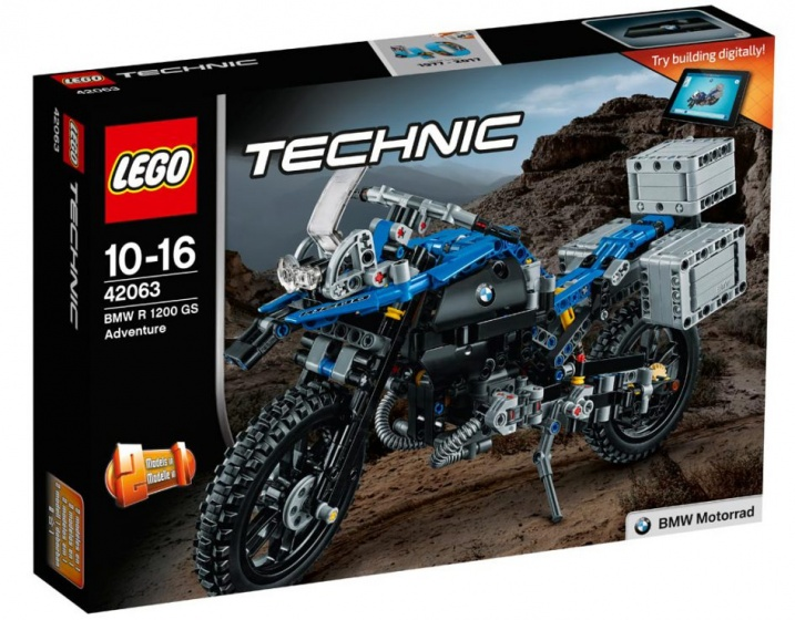 LEGO Technic: BMW R1200 (42063)