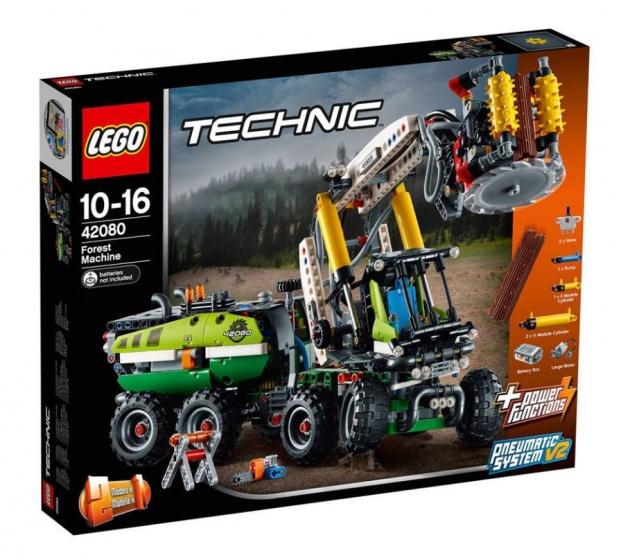 LEGO Technic: bosbouwmachine (42080)
