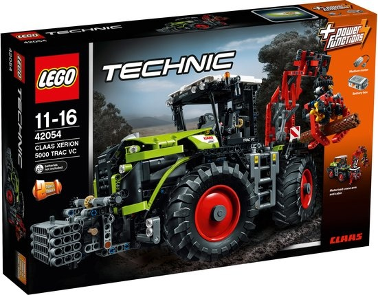 LEGO Technic: Claas tractor (42054)