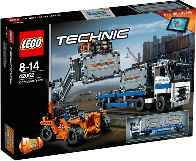LEGO Technic: Containertransport (42062)