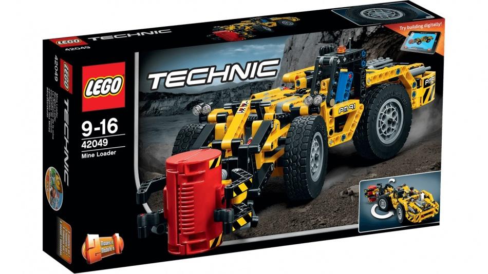 LEGO Technic: Mijnbouwgraafmachine (42049)