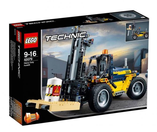 LEGO Technic: robuuste vorkheftruck (42079)