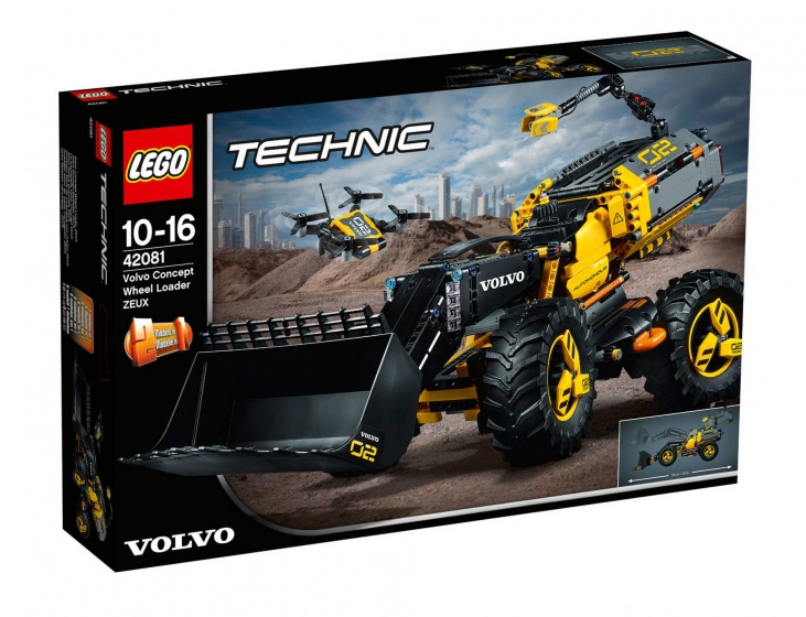 LEGO Technic: Volvo Concept Wiellader Zeux (42081)