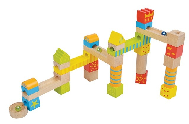 Lelin Toys Knikkerbaan 32 Delig