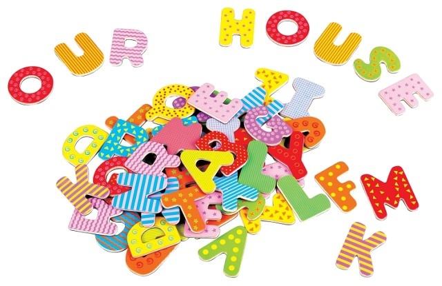 Lelin Toys Magnetisch Alfabet Hoofdletters 60 Stuks