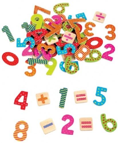 Lelin Toys Magnetische Cijfers en Rekentekens 60 Stuks