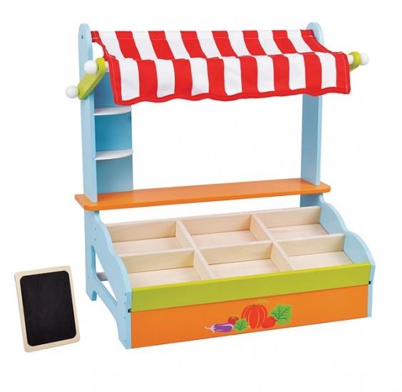 Lelin Toys Marktkraam Met Krijtbord