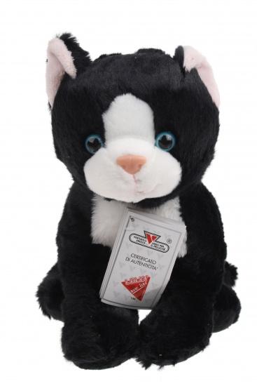 Lelly Knuffelkat 25 cm zwart