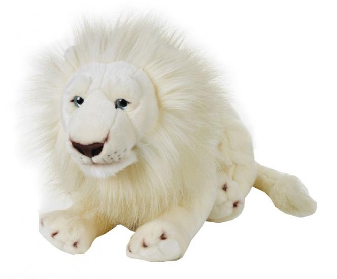 Lelly Knuffelleeuw 55 cm wit