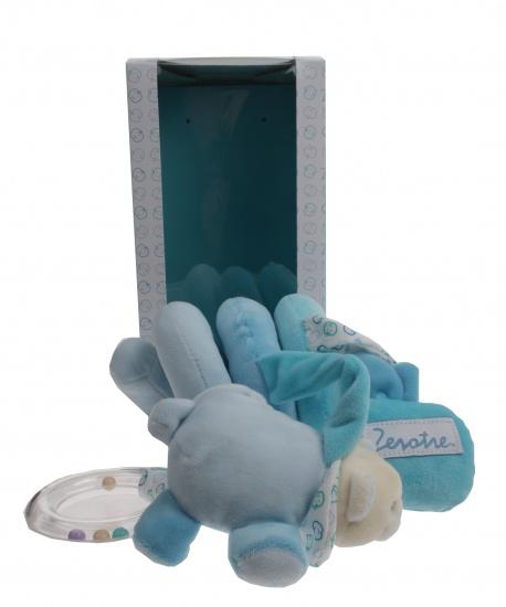 Lelly Boxspiraal 32cm blauw