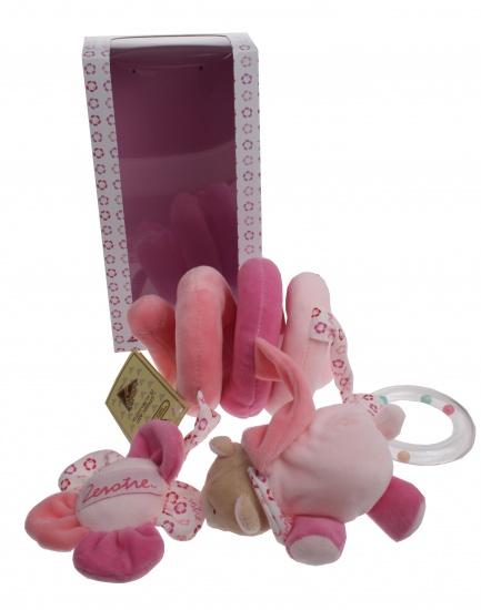 Lelly Boxspiraal 32cm roze