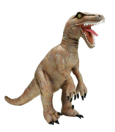 Lelly Dinosaurus 80 x 48 cm bruin