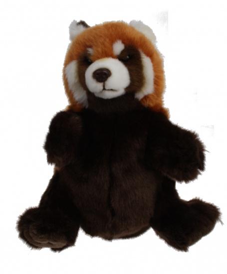 Lelly Handpop Wasbeer 27 cm bruin