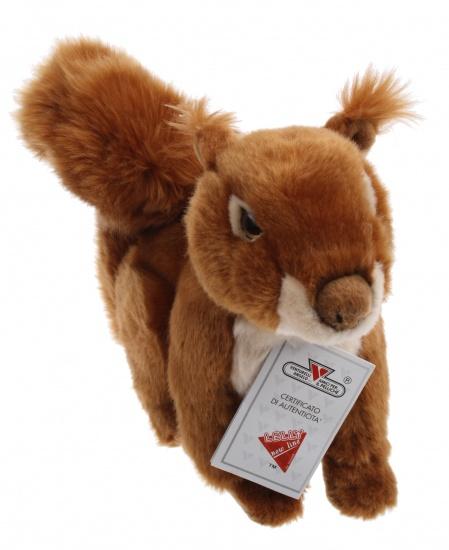 Lelly Knuffel Eekhoorn 27 cm bruin