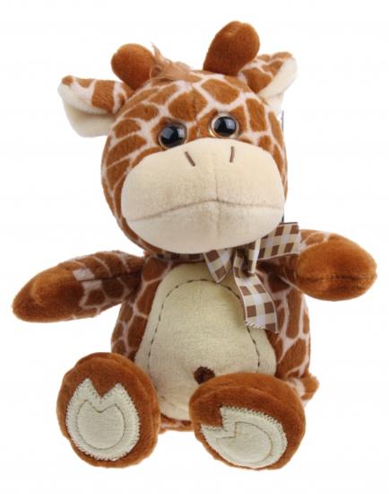 Lelly Knuffel Giraffe 33 cm bruin