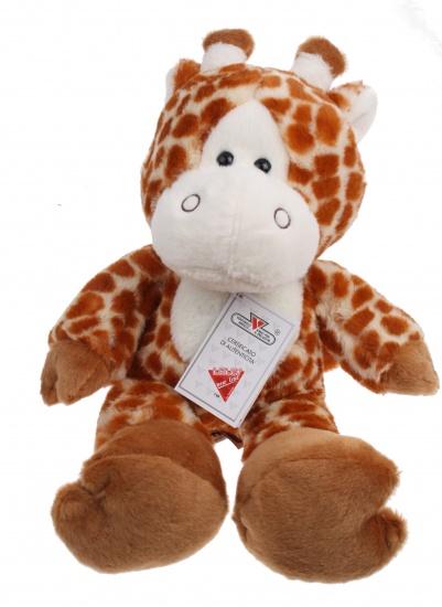 Lelly Knuffel Giraffe 36 cm bruin