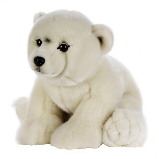 Lelly Knuffel ijsbeer 40 cm wit