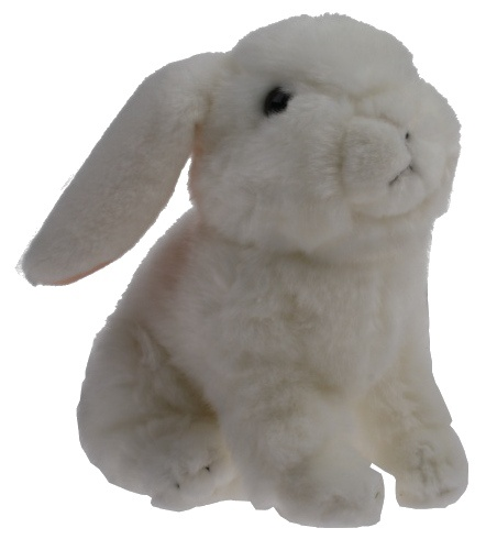 Lelly Knuffel Konijn 23 cm wit