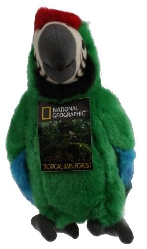 Lelly Knuffel Papegaai 26 cm groen