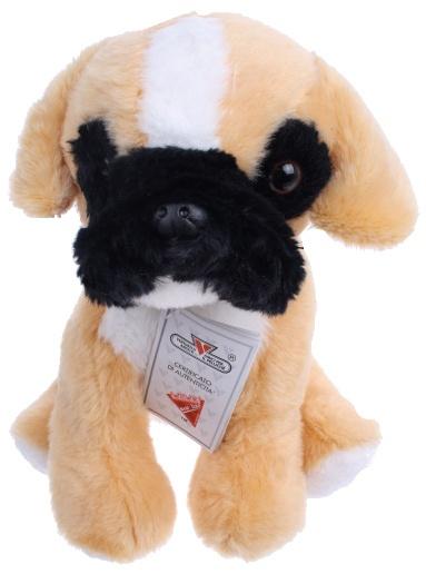 Lelly Knuffelhond 25 cm bruin