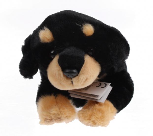 Lelly Knuffelhond 35 cm zwart