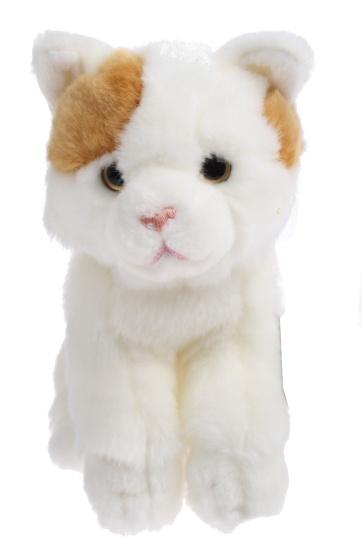 Lelly Knuffelkat 27 cm wit