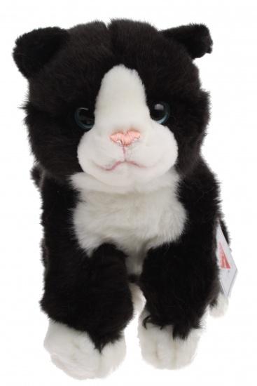 Lelly Knuffelkat 27 cm zwart