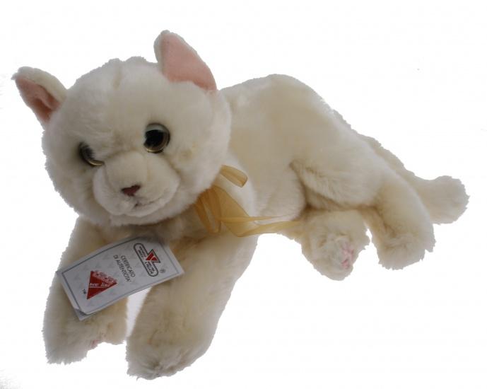 Lelly Knuffelkat 34 cm beige