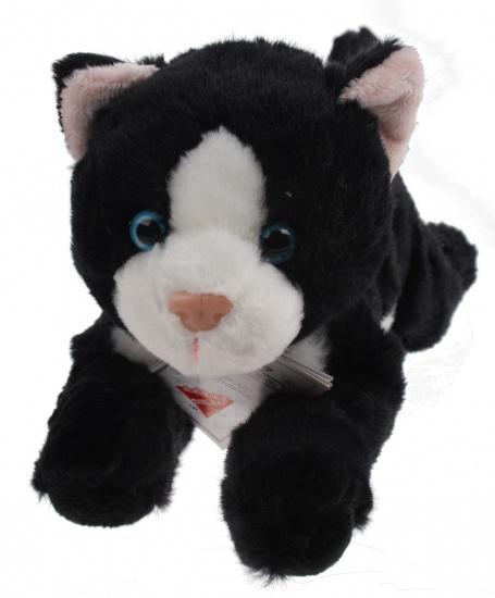 Lelly Knuffelkat 34cm zwart