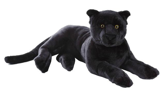 Lelly Knuffelpanter 65 cm zwart