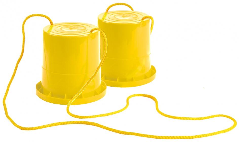 Lena loopklossen geel 18 cm