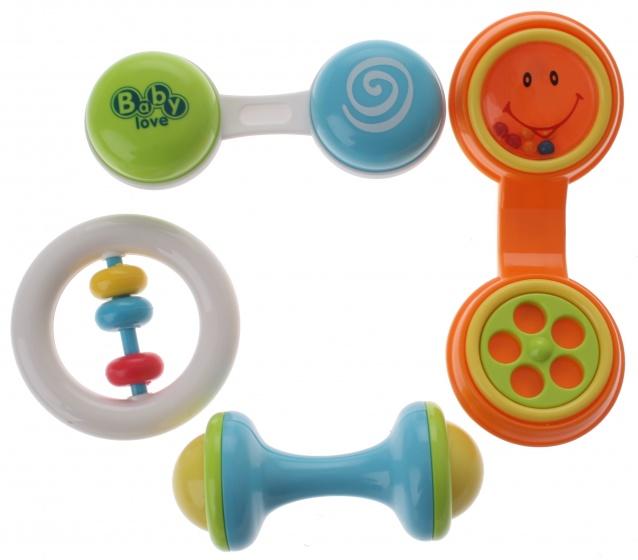 Let's Play rammelaarset telefoon 4 delig