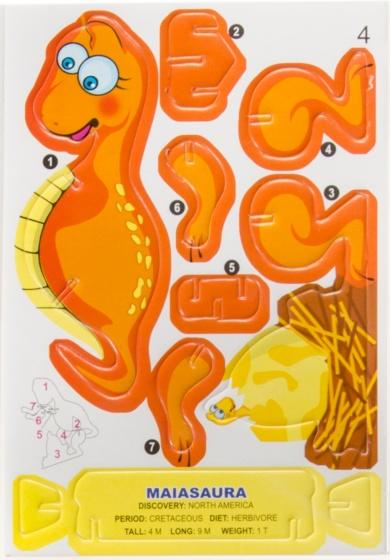 LG Imports 3D puzzel maiasaurus 7 stukjes