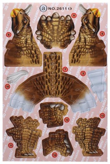 LG Imports 3D puzzel triceratops 18 stukjes