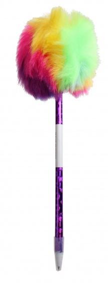 LG Imports balpen regenboog paars
