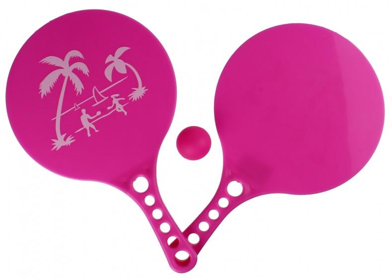 LG Imports beachball set Beach Fun 3 delig roze